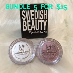 Other - Swedish Beauty Loose Eyeshadow Duo Kit